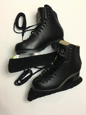 Superb Excellent Jackson Size 6M Ice Skating Skates Mark IV Blades 10-1/3