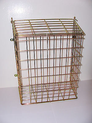 Large Brass Plated Effect Letter Box Door Cage / Guard Protect Your  Mail/ Post