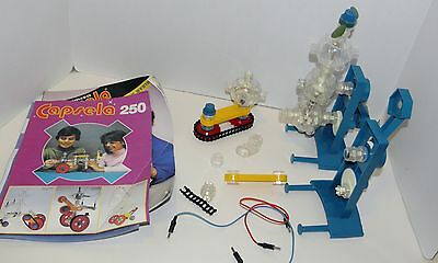 Capsela Robot / misc parts and  building manuals  Not complete