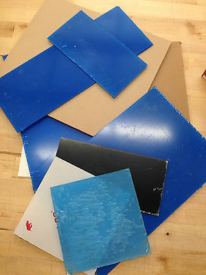 Sibe-R Plastic Supply - Assorted 10 Lb Acrylic Scrap Boxes