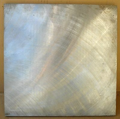 """12 Inches Sq. Blanchard Ground Steel Plate approx.  .500"""" thick"""