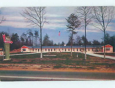 Pre-1980 HILL MOTEL Millersville Maryland MD M3125