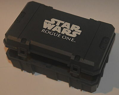 EMPTY card storage box / case for Topps 2016 - Disney Star Wars Rogue One cards