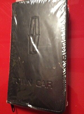Lincoln 1991 Owners Manual Om Complete With Case Pen Key Ring