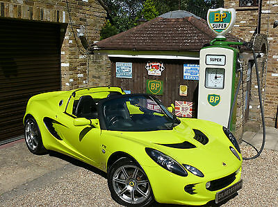 Lotus Elise 1.8 R Touring 2009 09 isotope green pearl
