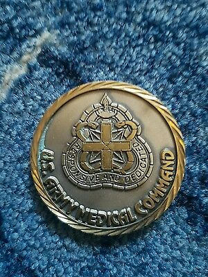 us challenge coin army medical command