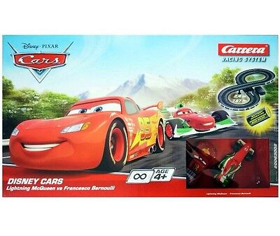 DISNEY Cars Carrera Go MICRO Battery Operated Scalextrics 2.4 Meters Track