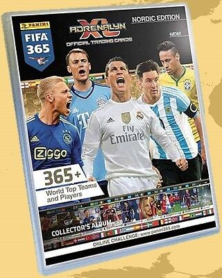 FIFA 365 ADRENALYN XL NORDIC EDITION - Pick the cards from list - PANINI