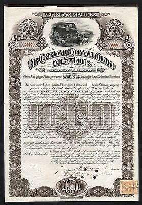 1890 The Cleveland, Cincinnati, Chicago and St. Louis Railway Company