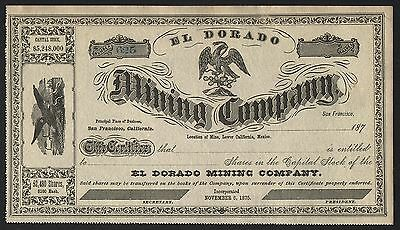 187_ San Francisco, California: El Dorado Mining