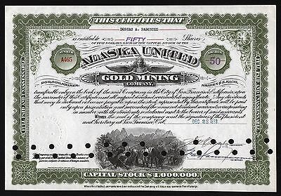 1933 San Francisco, Californien: Alaska United Gold Mining Company