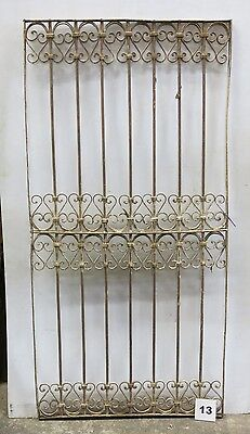 Antique Egyptian Architectural Wrought Iron Panel Grate (I-13)