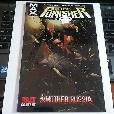 PUNISHER MAX Volume 3 MOTHER RUSSIA Marvel TPB Garth Ennis unread NEAR MINT