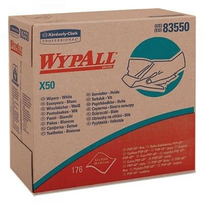 Wypall X50 Light Duty Wipers Pop-Up Box, 10 Boxes (KCC83550)