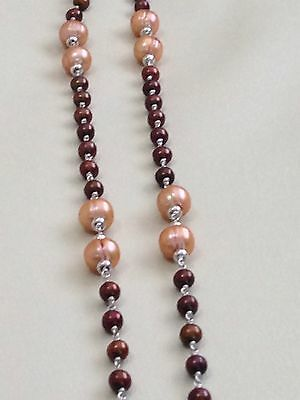 """Honora Sterling Freshwater Cultured Pearl 36"""" Necklace"""