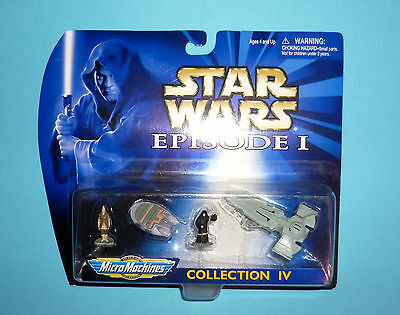 STAR WARS Micro Machines EPISODE 1 - COLLECTION IV - OVP NEW 1999