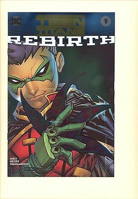 Teen Titans 1 VF/NM foil cover convention exclusive Batman, Flash, Damian Wayne