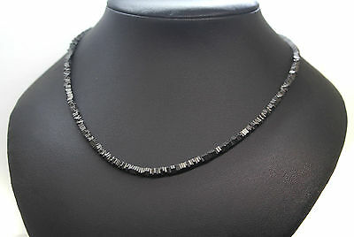 Collar Shungita Natural. Rusia. Plata 1ª Ley .925
