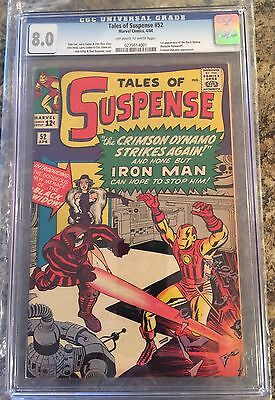 TALES OF SUSPENSE #52 CGC 8.0  CANADA SELLER 1st appearance Black Widow