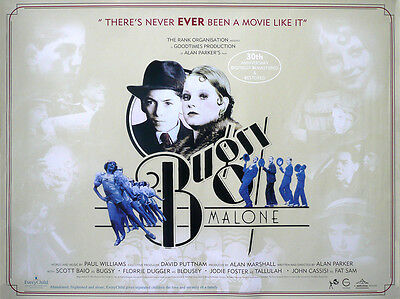 """Bugsy Malone 16"""" x 12"""" Reproduction Movie Poster Photograph"""
