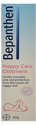 BEPANTHEN 30g Nappy Care Ointment BABYCARE/RASHES/SKIN/HEALTH/FREEPOSTAGE