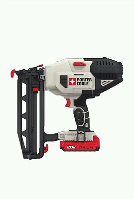 PORTER-CABLE PCC792LA 20V MAX Cordless Lithium 16GA Straight Finish Nailer Kit