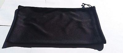 Qty 5 Ski Snowmobile Winter Outdoor Motorcycle Goggle Storage Bag Soft Black NEW