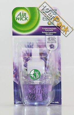 [14,01€/100ml] 12x19ml Air Wick Duftstecker Nachfüller Purpel Lavendel  Airwick