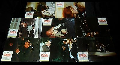 Let Sleeping Corpses Lie ORIGINAL SPAIN 74 LOBBY CARD SET Horror CULT Jorge Grau