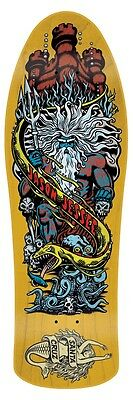 Santa Cruz Jason Jessee NEPTUNE 2 LIMITED EDITION Skateboard Deck YELLOW