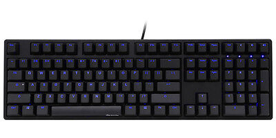 Ducky One Blue LED Backlit Mechanical Keyboard (Brown Cherry MX)