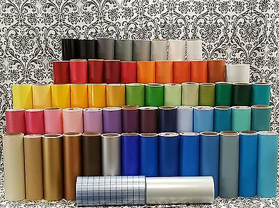 "12"" x 24"" Matte Craft Adhesive Vinyl Sheets Oracal 631"