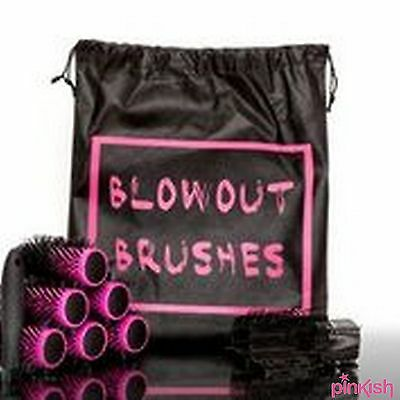 Blowout Hair Dry Brushes Detachable Handle Roller Clips - Volume and Curls