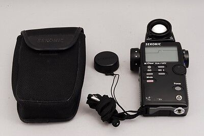 Sekonic L-508 Zoom Flash Master Digital Light Meter w/Case from Japan #68270