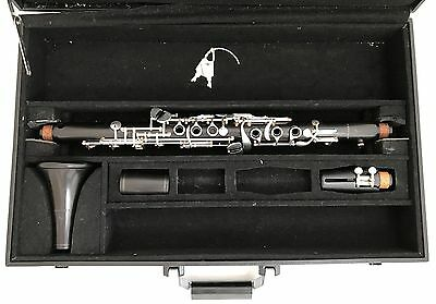 Unique F.A. UEBEL German Unibody Wooden Bb Albert Clarinet - 4 pads in row