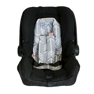 Infant Head Support- Arrows Grey