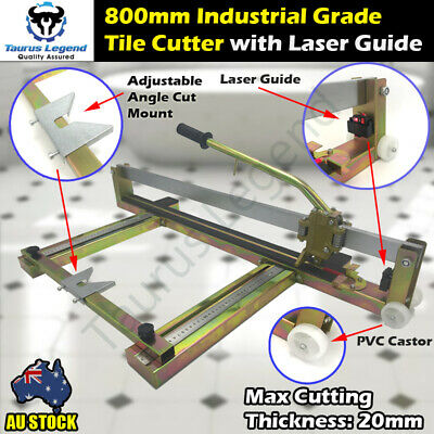 800mm Laser Guide Heavy Duty Tile Cutter Manual Cutting Machine For Large Tiles