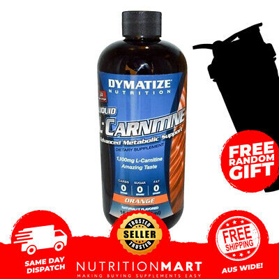 Dymatize Liquid L-Carnitine All Flavours Metabolic Support