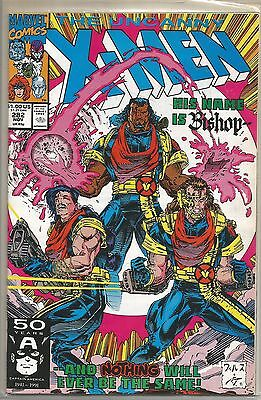 Uncanny X-Men #282 Marvel Copper Age (1991) Comic FN+/VF- (1st Bishop App.)