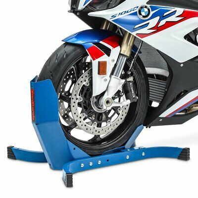 Wheel Chock BLU for Harley Dyna Low Rider (FXDL/I) Front Paddock Stand