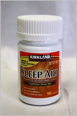 "Kirkland Signature Sleep ""Compare to Unisom Sleep tabs active ingredient"" 96 Tab"
