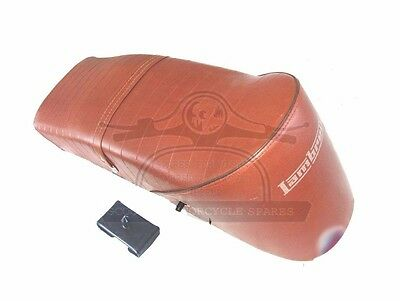 Lambretta Slope Back Ancillotti Type Seat Gp Li Tv Sx Brown @aud