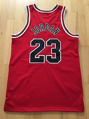 100% Authentic Michael Jordan Original Nike Chicago Bulls Away Jersey Size 44 L