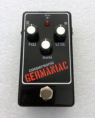 Coopersonic GERMANIAC boutique germanium fuzz pedal