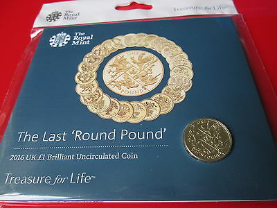 MINT CONDITION The Last Round Pound 2016 £1 One pound Coin UK BUNC Sealed