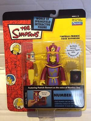 New Playmates The Simpsons Figure - NUMBER ONE - Interactive Springfield Rare
