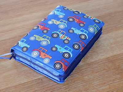 New World Translation 2013 Zipped Fabric Bible Cover - Tractors