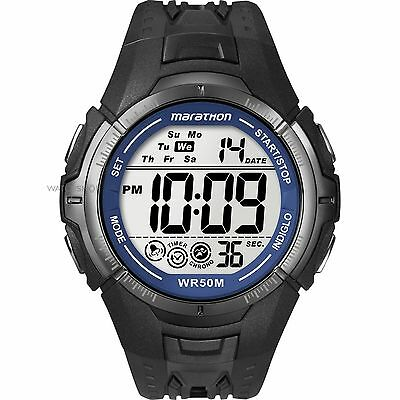 Timex T5K359 Mens Ironman Marathon Unisex Digital Watch New Uk