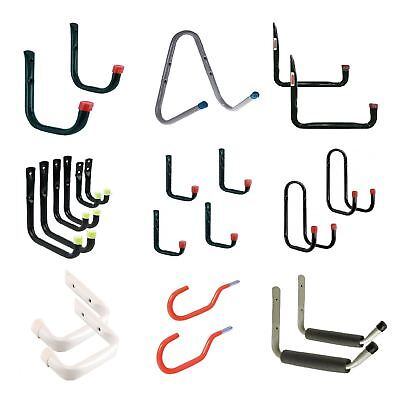 Storage Hooks Wall Mounted Ladder Bike Garage Shed Utility Hook / Menu Options