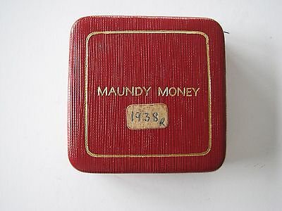 George Vi 1938 Maundy Set Uncirculated